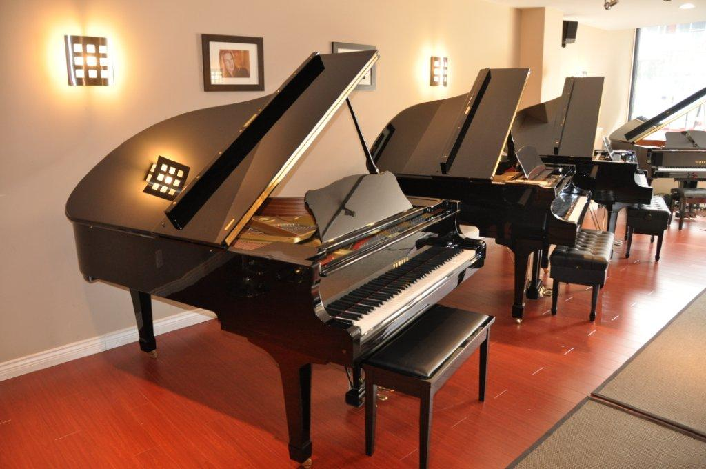 G series grand pacey 39 s pianos for How big is a grand piano