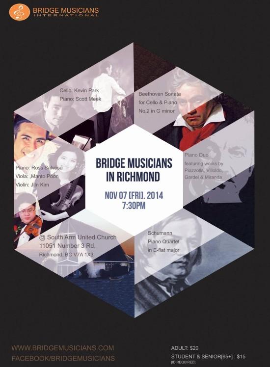 Poster Bridge Music International